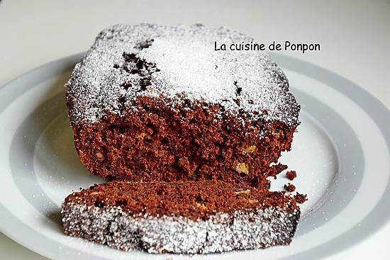 recette Cake aux bananes et chocolat