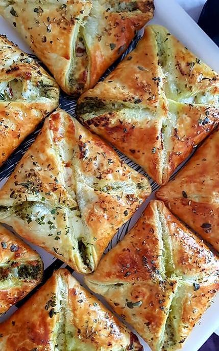 recette Pizza en mode feuilleté