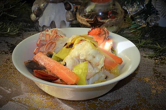 recette Cocotte de lotte et homard en sauce crémée