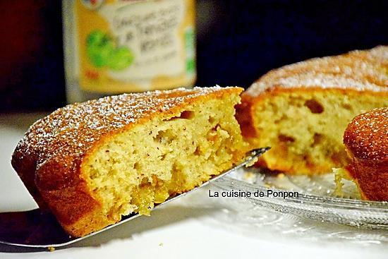recette Gâteau moelleux à la confiture de tomates vertes et blancs d'oeufs