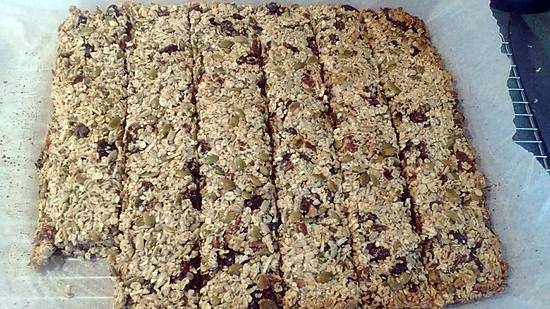 recette Barres granola