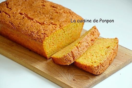 recette Gâteau aux carottes de Pierre Hermé, sans beurre