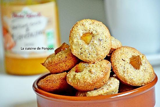 recette Amaretti aux noisettes et confiture de clémentine, sans farine et sans beurre