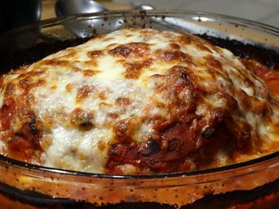 recette Pain de Viande à l'Italienne Gratiné