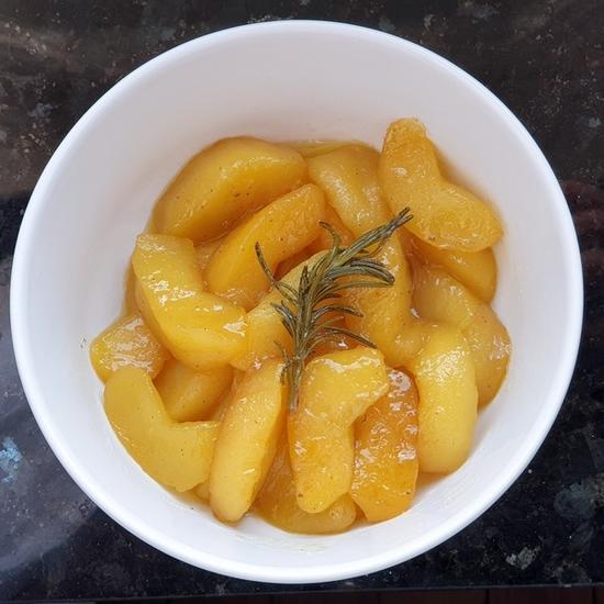 recette Pommes de Bretagne au miel de lavande et romarin