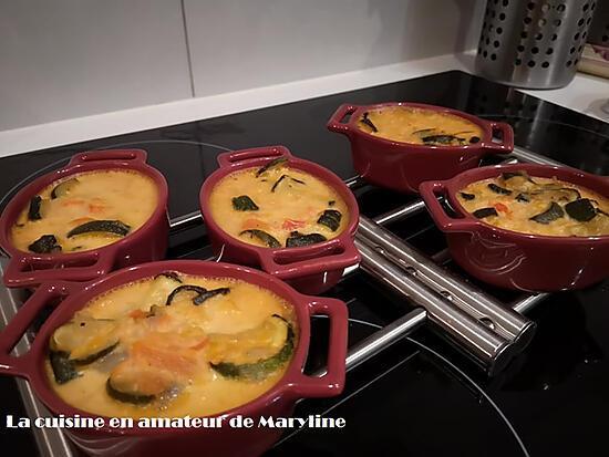 recette Crème brûlée aux courgettes