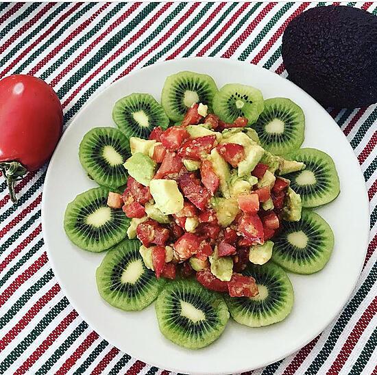 recette Salade kiwi-avocat