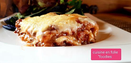 recette lasagnes à l'aubergine-paprika avec pâtes maison
