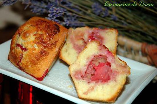 recette Muffins aux fraises et chocolat blanc
