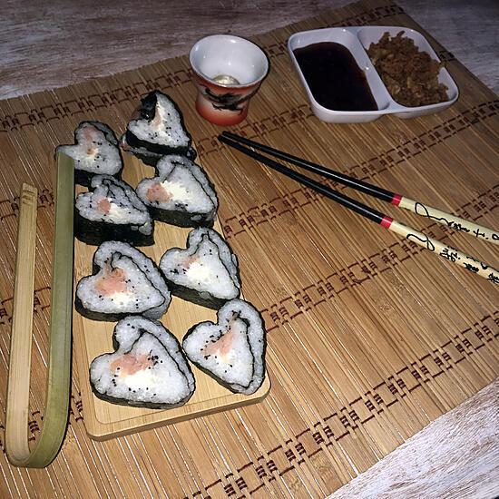recette Sushis cœur