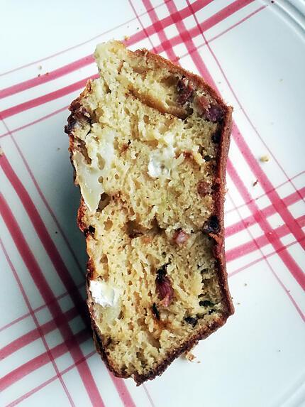recette Cake aux lardons, fromage