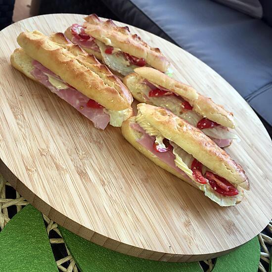 recette Sandwichs viennois maison