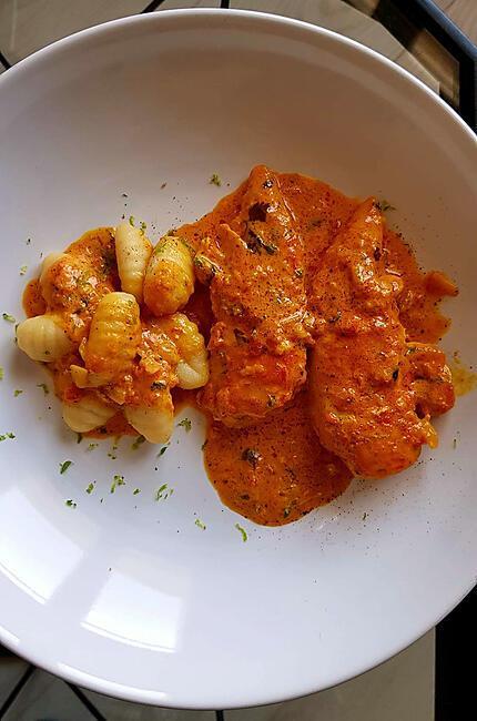 recette Blanc de poulet aux épices