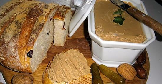 recette mousses de foie de vollailles au porto