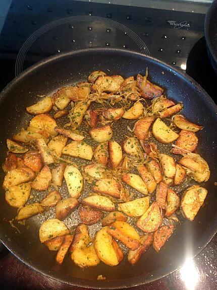 recette Pommes de terre à l'indienne
