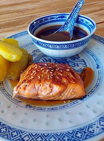 recette Saumon Teriyaki