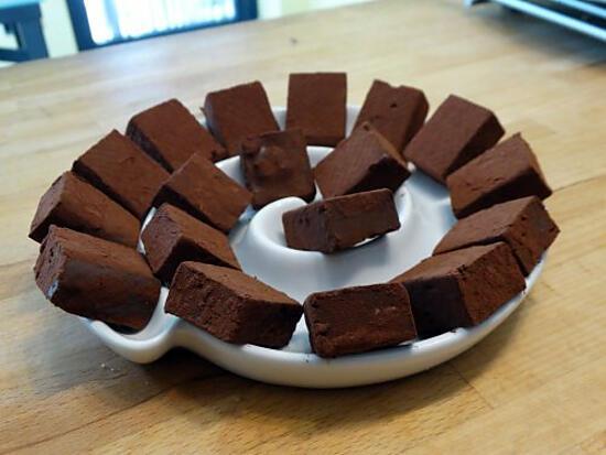 recette Truffes au Café, Chocolat au Lait et Noix