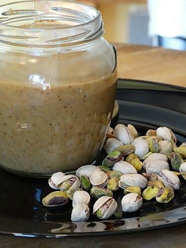 recette Pâte à Tartiner Pistaches et Chocolat Blanc