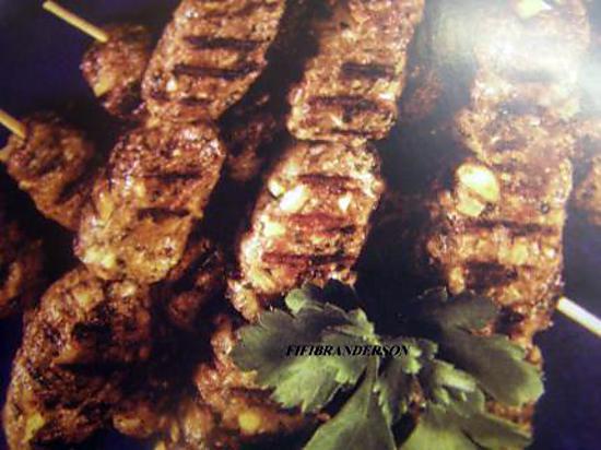 recette borchettes de viande hachee au boulghour