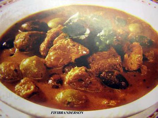 recette morceaux de veau aux olives