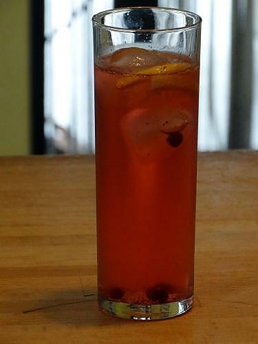 recette Gin-Tonic Fraises des Bois