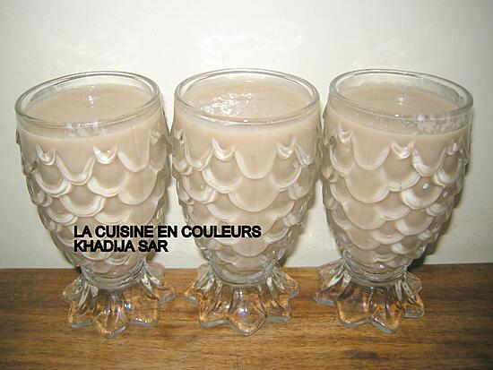 recette Smoothie ananas-bananes-melons