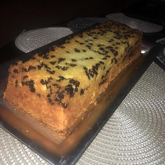 recette Cake a l'orange et aux pépites de chocolat