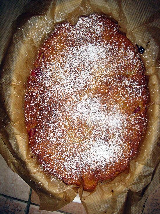 recette Cake moelleux aux fraises
