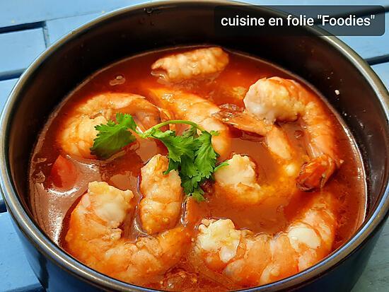 recette Crevettes à la sizhuanaise
