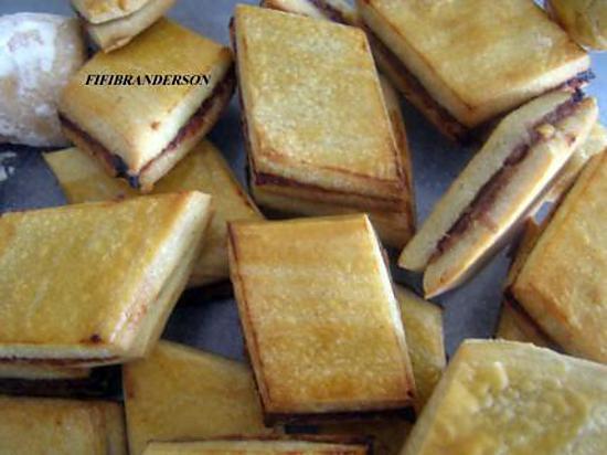 recette losanges aux dattes SANS SUCRE