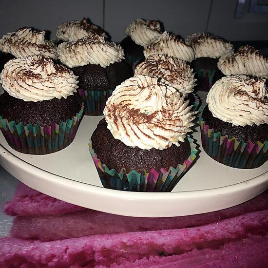 recette Muffins Cupcakes au cacao