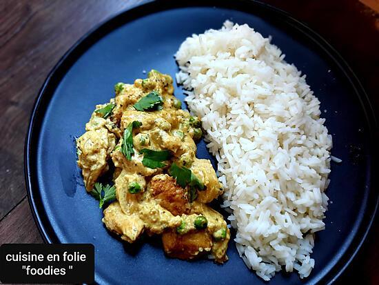 recette Poulet biryani à ma façon  (un plat en 15 minutes !..)