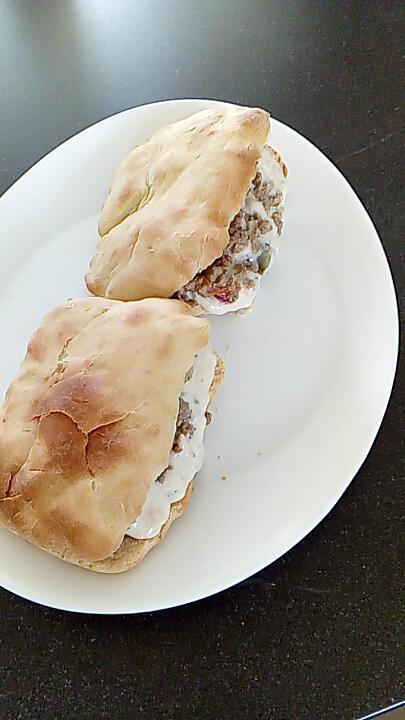 recette pain naans a la viande haché de boeuf