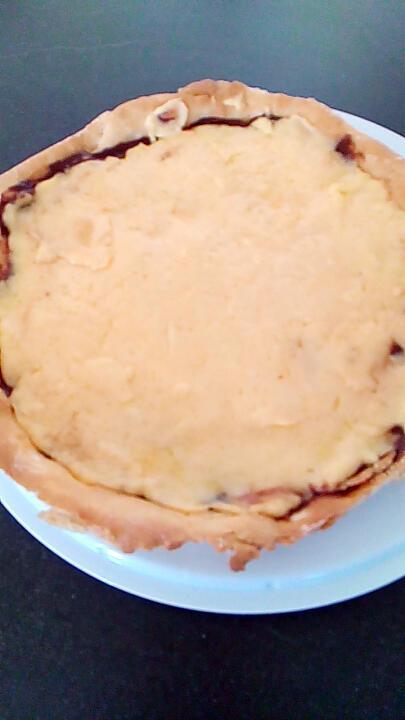 recette tarte choco vanille façon créme brulée