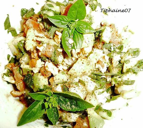 recette Salade quercynoise revisitée