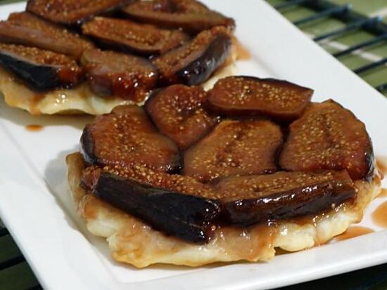 recette Tatin de Figues au Caramel Beurre Salé