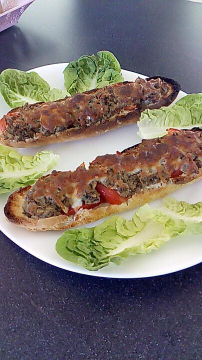 recette petit pain maison farçi aux sardines