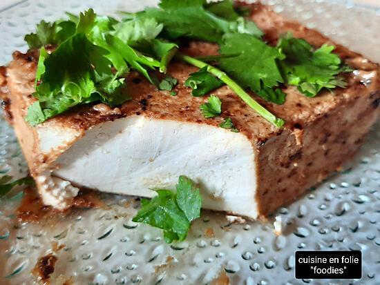 recette Tofu au miso et ponzu