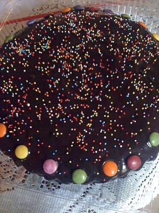 Super gateau au chocolat pour anniversaire