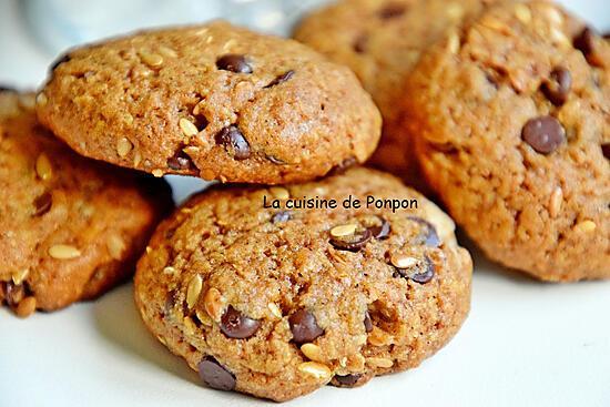 recette Cookies aux graines de lin, riches en oméga3