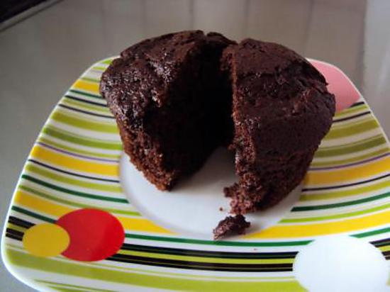 recette Muffins chocolat courgette