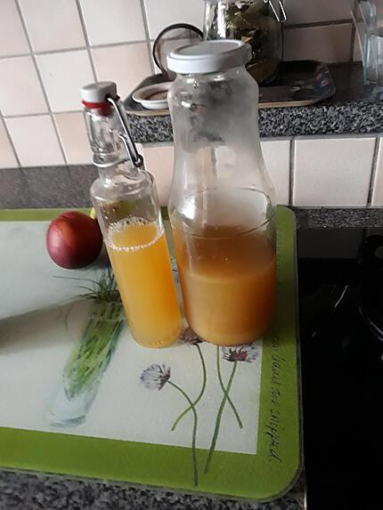 recette Sirop courgettes jaunes Thermomix