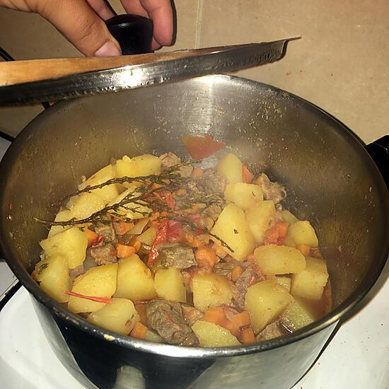 recette Ragoût de bœuf