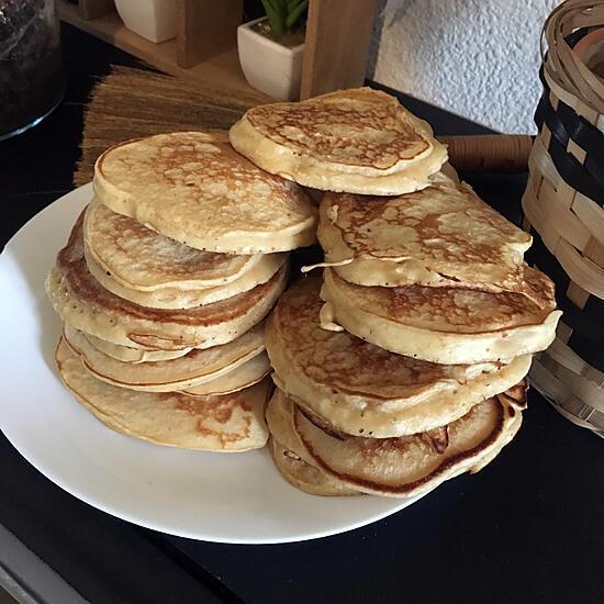 recette Pancakes a la banane et au beurre de cacahuètes