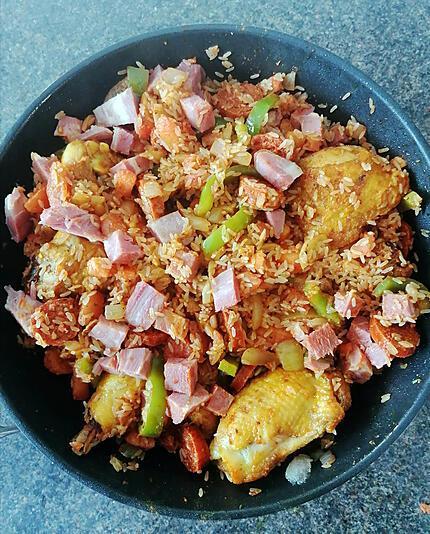 recette Jambalaya Poulet Chorizo