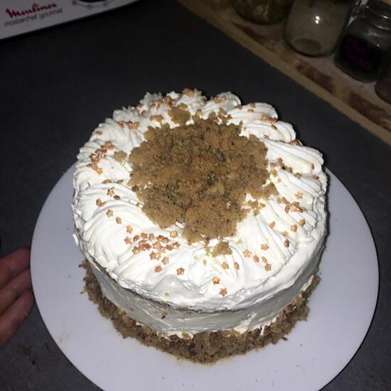 recette Layer cake carrot cake