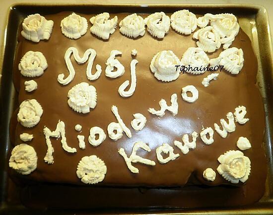 recette Mój Miodowo-Kawowe