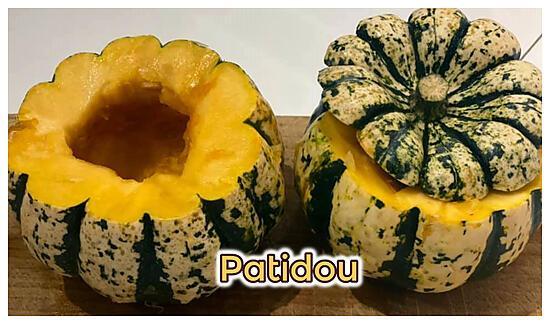 recette PATIDOU COCOTTE