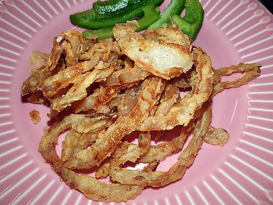 recette Oignons frits Maison