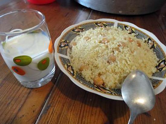 recette Couscous aux pois chiche de Kabylie